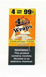 4K Wraps Mango Rolling Paper