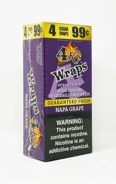 4K Wraps Napa Grape blunt