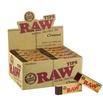 RAW Natural Unrefined Tips Original 50 Packs