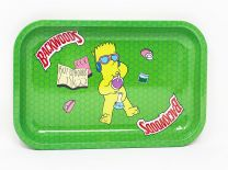 backwoods Aluminum Rolling Tray  Light Green Color
