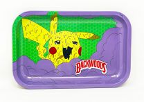 backwoods Aluminum Rolling Tray  Purple Green Color