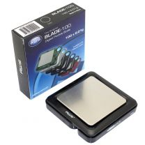 Blade Weigh Scale Digital Precision Pocket Weight Scale, Black, 100 x 0.01G (BL-100-BLK)