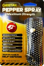 Cheetah Pepper Spray Maximum Strength Range Up To 12FT 1/2 oz.