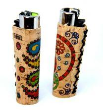 CLIPPER Natural Cork Art Lighter Pack of 24 CT