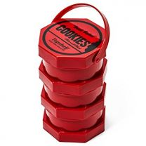Cookies Harvest Club Red Plastic Jar