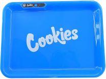 Cookies Metal Rolling Trays Medium Blue Color