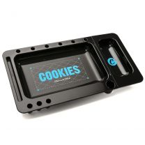 Cookies Rolling Slide Out Black Tray 12 Inches