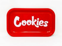 Cookies Metal Rolling Trays Red Color