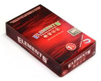 Elements Hemp 1 1/4 Red Slow Burn Rolling Papers Box