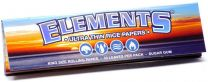 Elements Ultra Thin King Size Rice Rolling Papers Pack