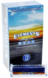 Elements 79mm Rollers 12 Rolling Machine Per Box Size 1 1/4
