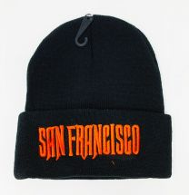 Embroidery Knit Hat