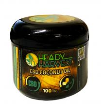 Heady Harvest CBD Coconut Oil 100mg 4 Oz