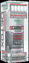 Herbal Clean QCarbo20 Same Day Detox Drink 20oz Cran-Raspberry