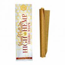 High Hemp Smoking Wraps Honey Pot Swirl Flavor Pack