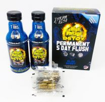High Voltage Detox 5 Day Flush Blue Berry 16oz + 30 Capsules