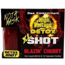 High Voltage Detox XL Shot Blazin Cherry