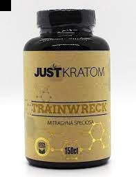 Just Kratom Traniwreck 150 Capsule