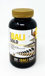 Bumble Bee Kratom Bali Gold All-Natural Herbal Supplement 300 Capsules Each 500mg