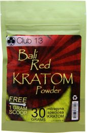Club13 Bali Red Kratom Powder 30 Grams