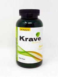 Krave Botanicals Gold Kratom 300 Caps All Natural Premium Quality