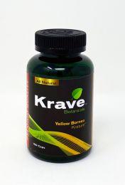 Krave Botanicals Yellow Borneo Kratom 150 Caps