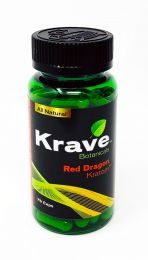 Krave Botanicals Red Dragon Kratom 75 Caps