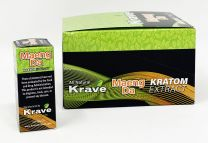 Krave Kratom Maeng Da Extract 15ML Shot 12 Bottle Per Box