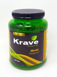 Krave Botanicals Gold Kratom 1000 Caps