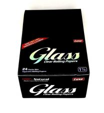 Luxe Glass Naturally Clear 1 1/4 Cigarette Rolling Papers