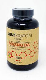 Just Kratom Capsule Red Maeng Da 150 Capsule
