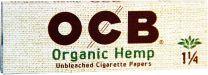 OCB 1 1/4 Organic Hemp Unbleached Cigarette Papers Pack