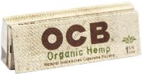 OCB Organic Hemp 1 1/4 Natural Unbleached Cigarette Papers Pack