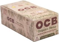 OCB Organic Hemp Natural Unbleached 1 1/4 Cigarette Papers