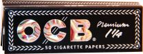 OCB 2 In 1 Premium 1 1/4 Rolling Papers Booklet