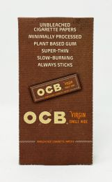 OCB Virgin Single Wite Unbleached Cigarette Papers