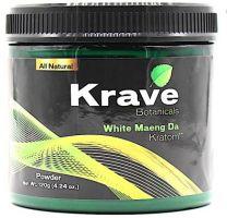 Krave Botanicals White Maeng Da Kratom Powder 120 g
