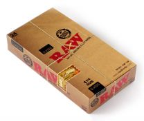 Raw Classic 1 1/4 Natural Unrefiend Rolling Papers 24 Packs/Box