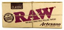 RAW Artesano Classic Kingsize Slim Hemp Natural Unrefined Papers