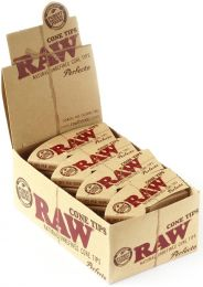 RAW Natural Unrefined Perfecto Cone Tips Box