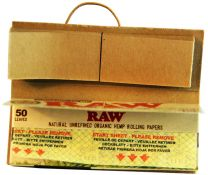 RAW Organic 1 1/4 Connoisseur Natural Unrefined Hemp Papers