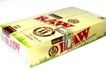 Raw Organic 1 1/4 Natural Unrefined Hemp Rolling Papers