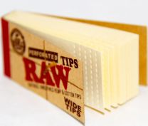 RAW Natural Unrefined Hemp & Cotton Tips Single Pack