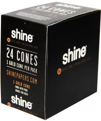 Shine 24K Gold Cone Paper Midas King Size