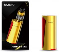 SMOK Priv V8 Gold Red Vaporizer Kit