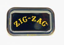 ZIG ZAG Tray Rolling Cigarette Aluminum Black Color