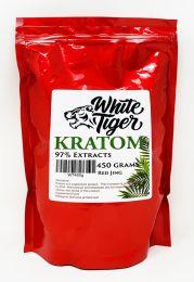 White Tiger Kratom Herbs 450 Gr Powder Red Jing