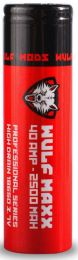 Wulf Maxx 18650 40 amp 2500 mAh 3.7v Lithium ION Battery