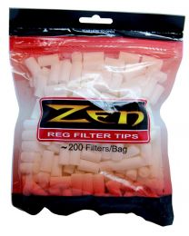 Zen Regular Filter Tips 200 Per Bag