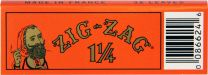 Zig-Zag 1 1/4 Orange Cigarette Papers Pack